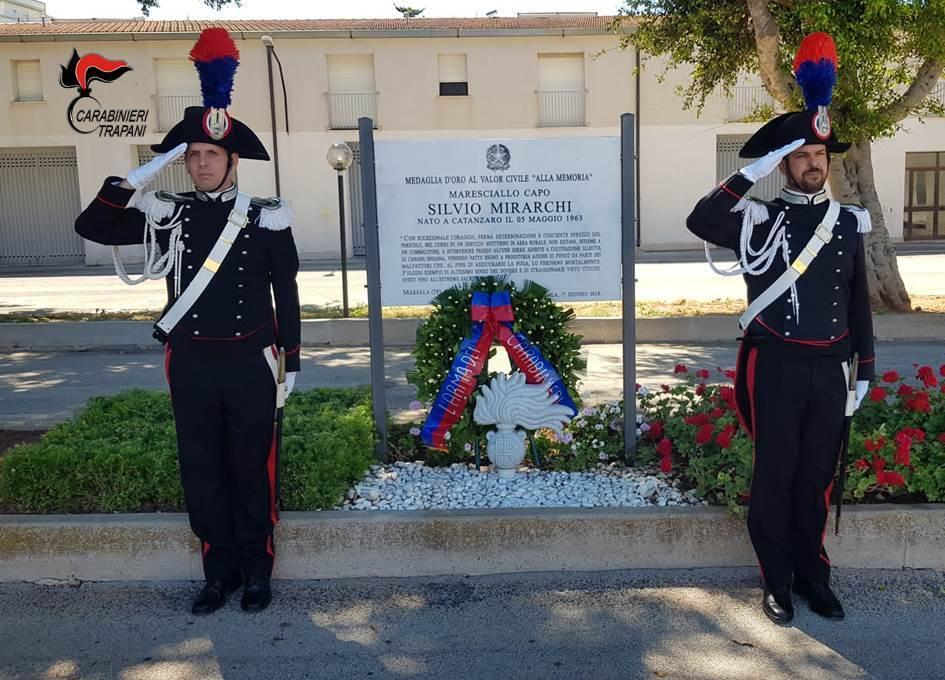 Marsala: Oggi la commemorazione del 4 anniversario del maresciallo capo Silvio Mirarchi