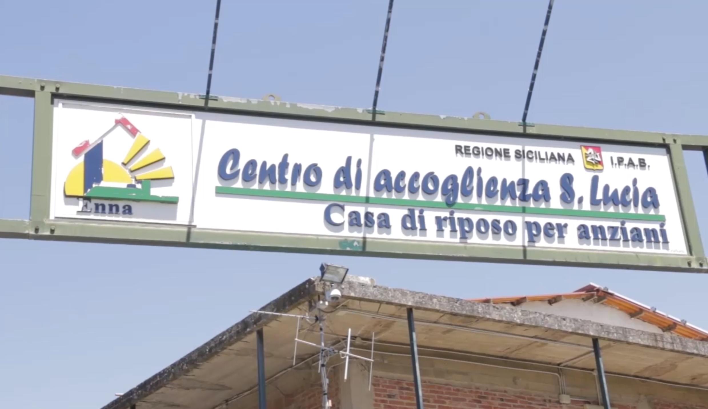 Al Centro Accoglienza Anziani S.Lucia di Enna bassa presentato il progetto 'Area Protetta'