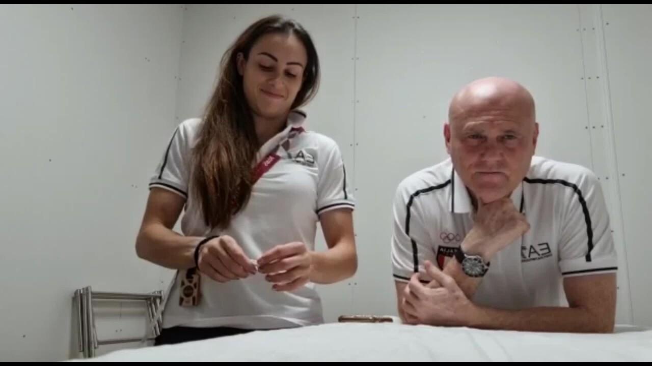 Vanessa Ferrari Concentrata sul mio esercizio