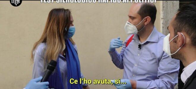 Test sierologico de Le Iene ai parlamentari. Prestigiacomo positiva: 'sintomi lievi'