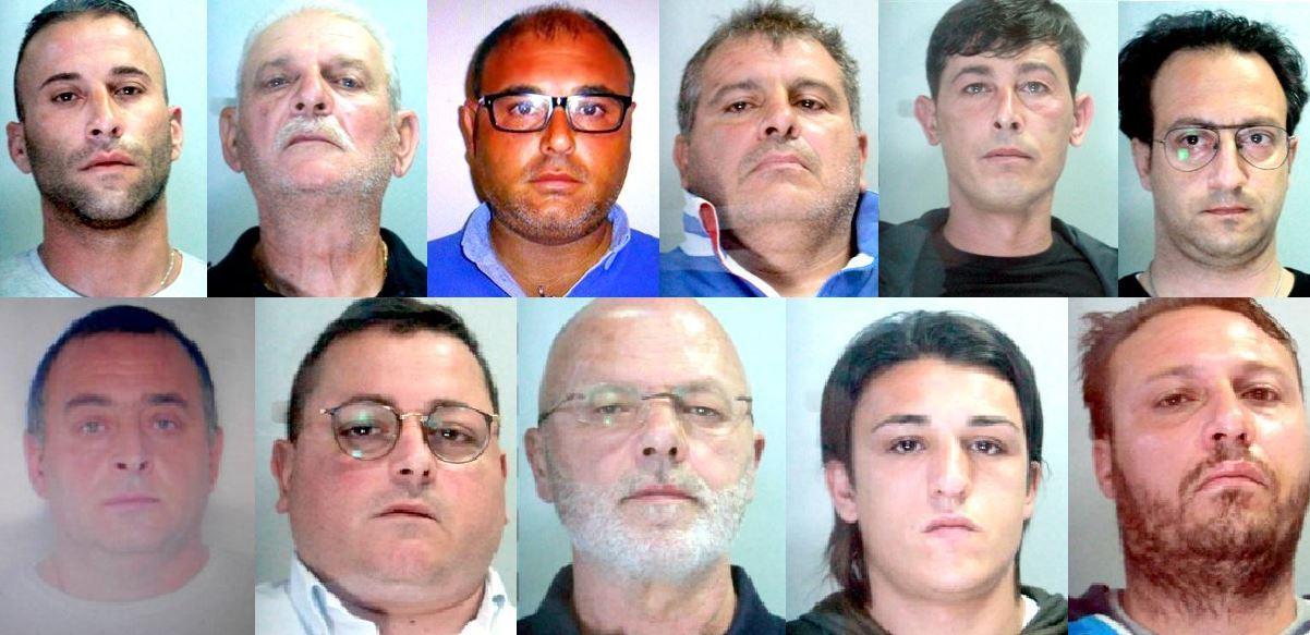 Mafia, colpo al mandamento della Noce: 11 arresti, ft e vd,