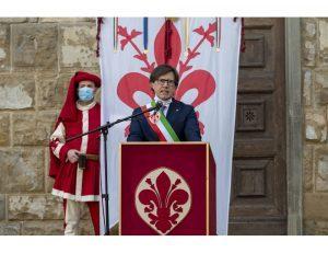 Calcio: Nardella espone striscione, 'Io sto con Commisso'
