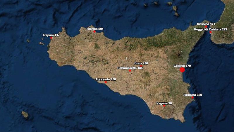 Coronavirus. In Sicilia il 4 luglio nelle ultime 24 ore si registrano tre nuovi contagi e nessun decesso