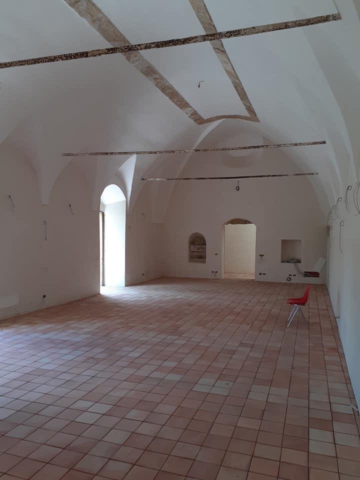 Enna quasi ultimati i lavori di recupero dei locali dell'ex Convento dei Cappuccini