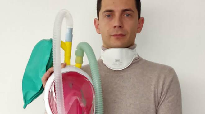 Maschere snorkeling in respiratori, Fracassi e Favero Cavalieri al Merito