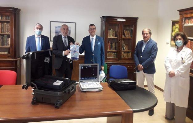 Il distretto Rotary Sicilia-Malta 2110, ha donato all'Asp di Enna un ecografo portatile
