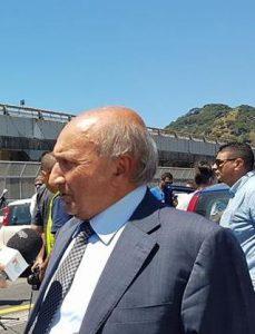 PRESA DI POSIZIONE - Pippo Ricciardello, presidente dell'ANCE Messina, a margine degli Stati generali di Roma