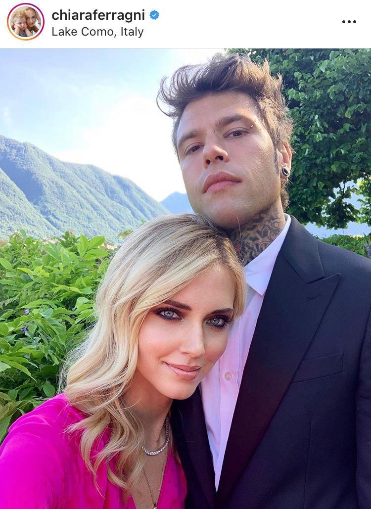 Chiara Ferragni e Fedez elogiano il lago di Como, la coppia da 30 milioni di followers