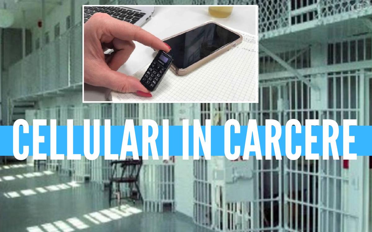 Con il trucco della pentola portano venticinque telefonini in carcere