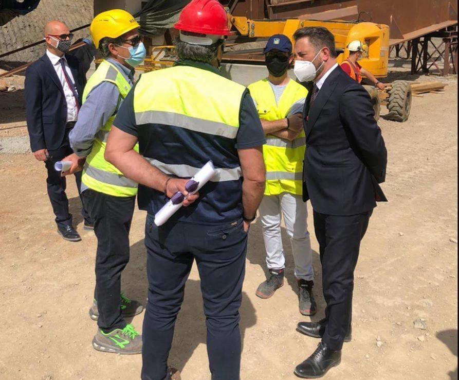 Cancelleri  viadotto Himera nel Palermitano sarà riaperto a luglio
