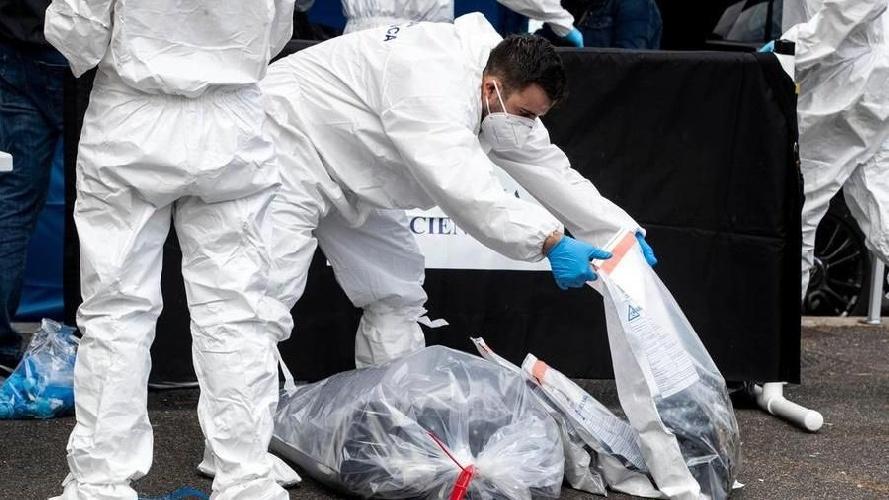 Cadavere rinvenuto in un campo scout a Vittoria Overdose?