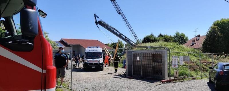 Missaglia, incidente nel cantiere edile Cinquantenne schiacciato dalla gru - Cronaca, Galbiate