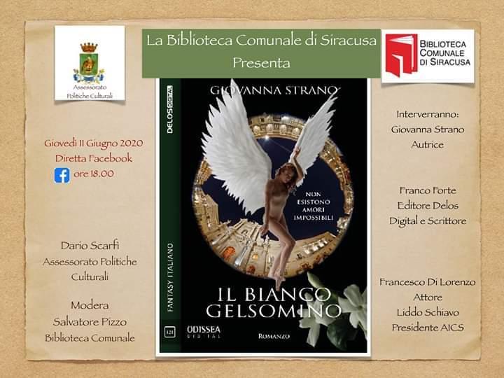 'Siracusa che legge', giovedì la presentazione del libro di Giovanna Strano