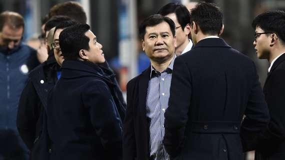 Inter debito Suning Zhang mette piatto euro