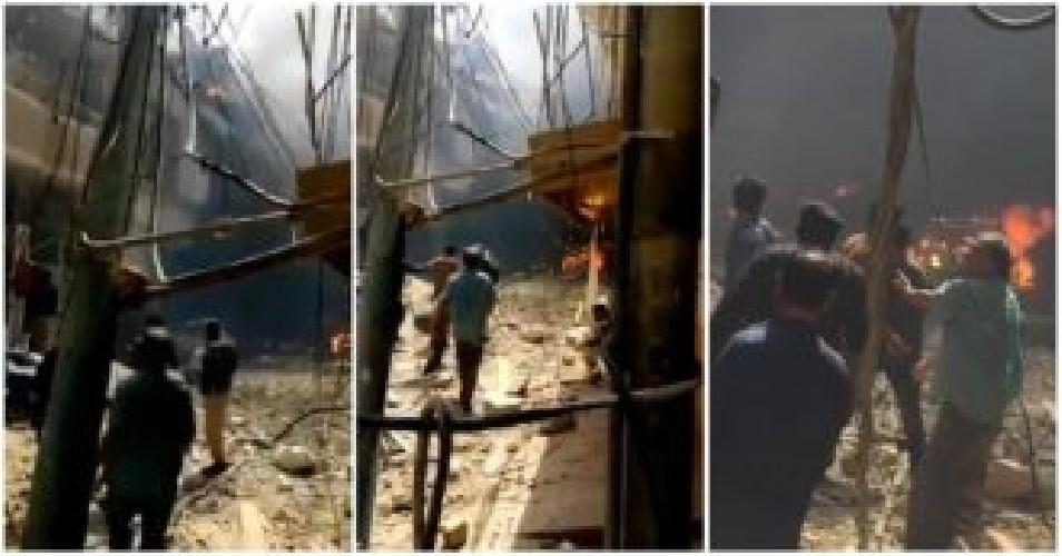Cade aereo con 100 passeggeri su città del Pakistan