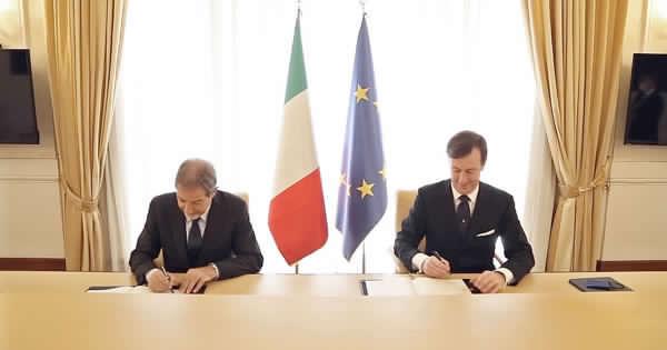 Centro direzionale di Palermo: è stato firmato un accordo..., Musumeci-Cdp