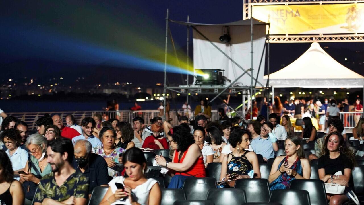 Cinema City Palermo in 2800 per la terza edizione del festival del cinema en plein air