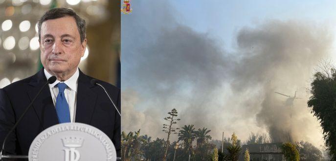 Incendi Draghi firma mobilitazione per la Sicilia