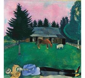 I colori dell'anima, firmati Chagall