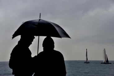 In arrivo forti temporali Genova-Levante