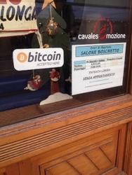 Barbieri trentini 1870 accettano bitcoin