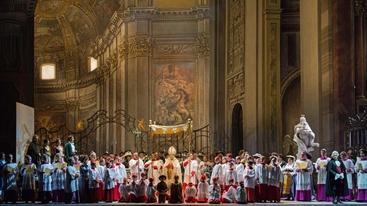 Opera Roma: Grasso a prima di Tosca