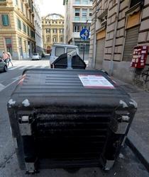 Blocchi stradali contro sgombero a Roma