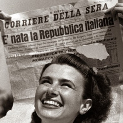 Mattarella a mostra 70 anni Repubblica