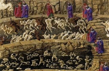 Viaggio notturno nell' Inferno di Dante