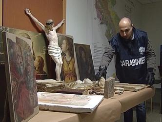 'Museo' reperti rubati in villa avvocato