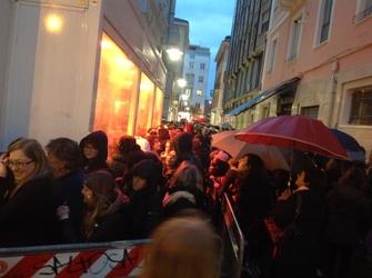 Il Volo, a Pescara 2mila sfidano pioggia