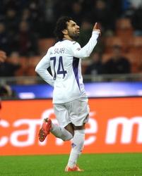 Salah in gol, Inter-Fiorentina 0-1
