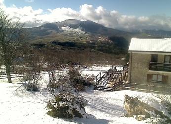 Prima neve su montagne molisane