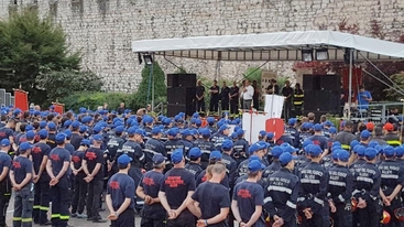 Vigili fuoco Trento: prove abilità per 16/o campeggio estivo