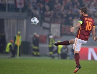 Roma: De Rossi out a Bologna
