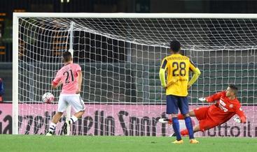 La Juve si distrae e cade, a Verona 2-1