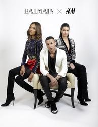 H&M lancia collezione insieme a Balmain