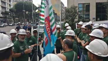Eurallumina: sit-in per rilancio azienda