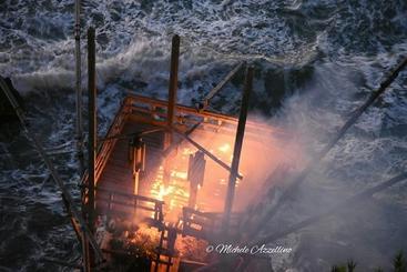 Incendio doloso distrugge trabucco Rodi