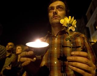 Omofobia,in piazza 'Sentinelle in piedi'