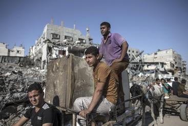 Gaza, crolla tunnel di Hamas, due feriti