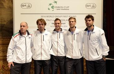 Coppa Davis, Svizzera battuta 3-0