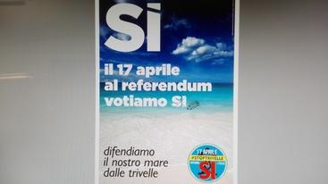 Trivelle: Puglia, manifesto per il Sì