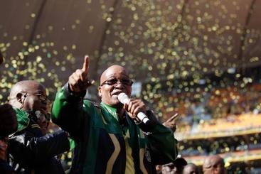Sudafrica: dedico vittoria Anc a Mandela