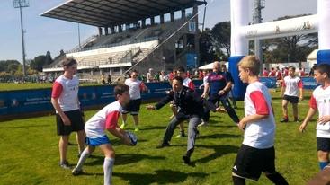 Polizia e rugby per legalità giovani
