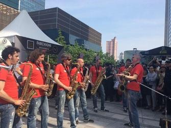 Successo artisti Umbria Jazz in Cina