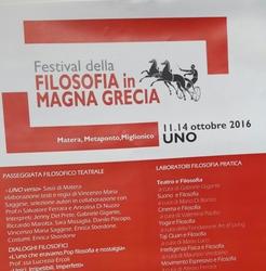 Festival della filosofia in Magna Grecia