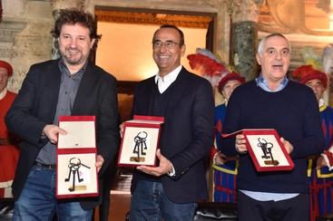 Conti,totoSanremo Panariello-Pieraccioni