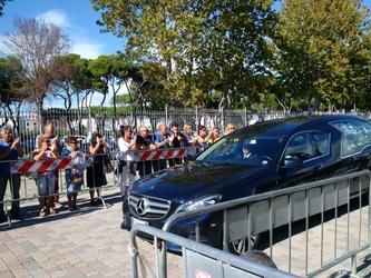 Ciampi: feretro a Livorno, corteo città