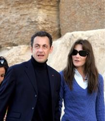 Sarkozy e Carla Bruni in Valle d'Aosta